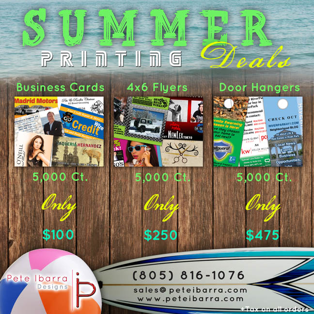 Summer Deals Flyer web