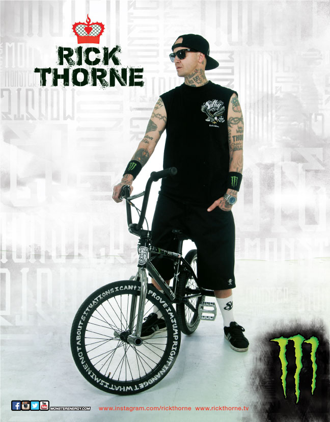Monster Energy Hero Card-Rick Thorne Photography by: Pete Ibarra